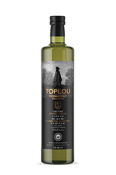 Extra Virgin Olive Oil Sitia - Organic - Toplou Dorica 750 ml