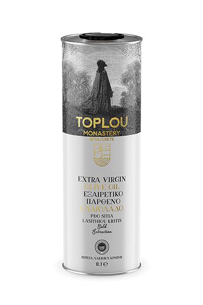 Extra Virgin Olive Oil P.D.O. Sitia - Tin 1L