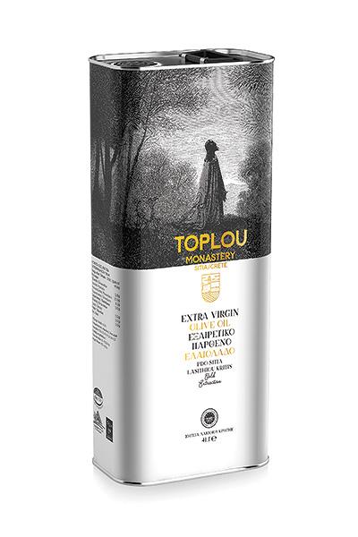 Extra Virgin Olive Oil P.D.O. Sitia - Tin 4L