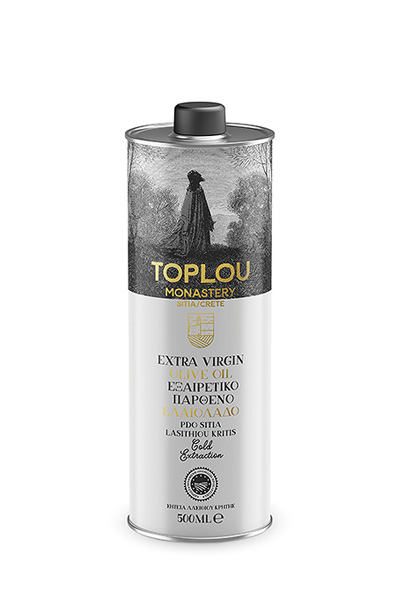 Extra Virgin Olive Oil P.D.O. Sitia - Tin 500ml
