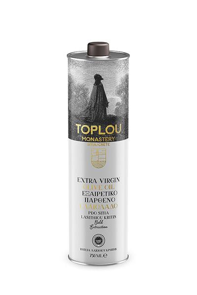 Extra Virgin Olive Oil P.D.O. Sitia - Tin 750ml