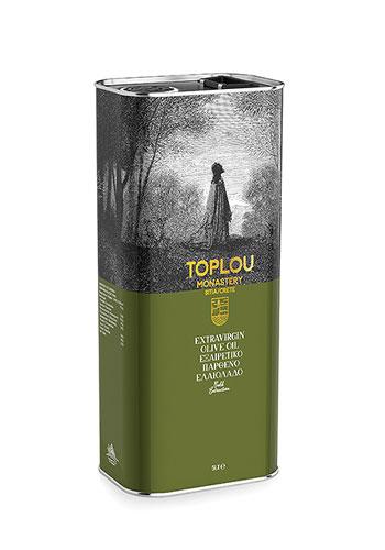 Extra Virgin Olive Oil - Toplou Tin 5 lt